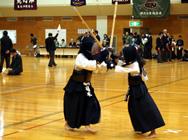 秋季剣道大会の様子